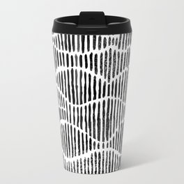 Lines and Curves Travel Mug