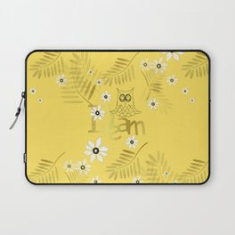 Tropical Dream - Inspirational Typography Laptop Sleeve