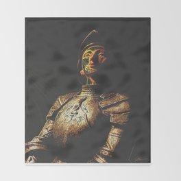 St Joan Throw Blanket