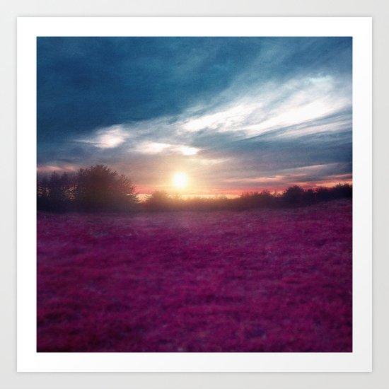Sunset I C. Art Print