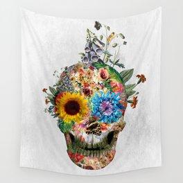 Skull - Punks Not Dead II Wall Tapestry
