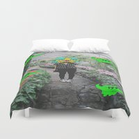 botanical Duvet Covers featuring botanical  by Mike McDonnell