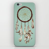 dreamcatcher iPhone & iPod Skins featuring dreamcatcher by tipsyeyes