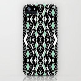 Art Deco Mint iPhone Case