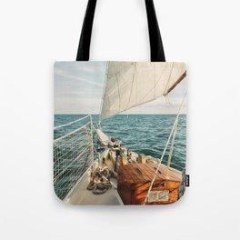 Open Ocean Sailing Tote Bag