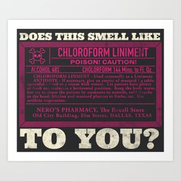 Smell Test Art Print