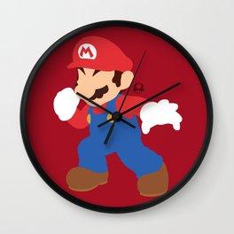 Mario(Smash) Wall Clock