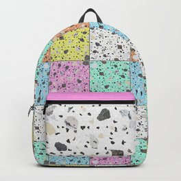 Memphis Terrazzo Backpack
