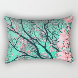 The tree from another dimension Rectangular Pillow