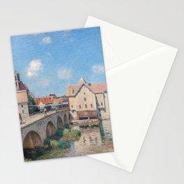 Alfred Sisley - Le Pont de Moret Stationery Cards
