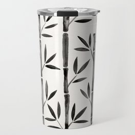 Black Bamboo Travel Mug