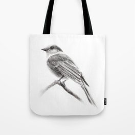 Grey Jay Tote Bag