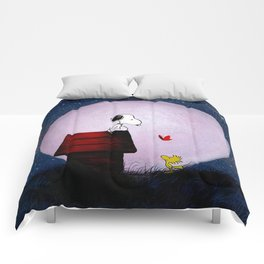 Snoopy Night Comforters