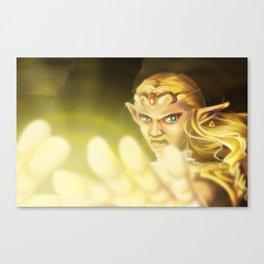 Princess Zelda - Ocarina of Time Canvas Print
