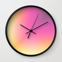 Color Gradient 25 Wall Clock