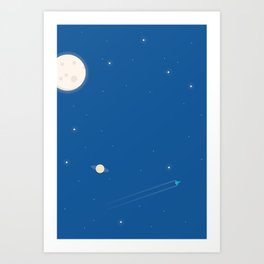 Rocket #2 Art Print
