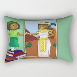 Finding my inner Queen Rectangular Pillow