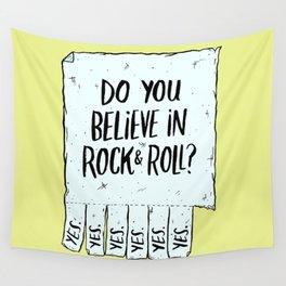 Believe in Rock & Roll Wall Tapestry