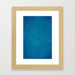 Navy Blue Framed Art Print