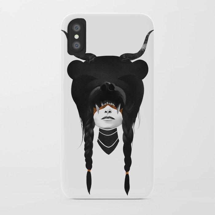 Bear Warrior iPhone Case