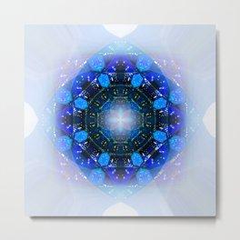 Blue 60 Metal Print
