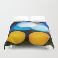 focus Duvet Covers featuring Focus by Dennis Claxon