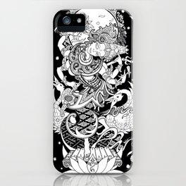 Balinese Saraswati iPhone Case