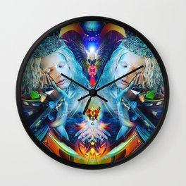 Cosmic Doll Wall Clock