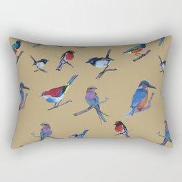 Daisy's birds Rectangular Pillow