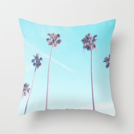 Palms Good Vibes Throw Pillow