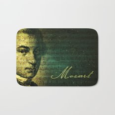 Wolfgang Amadeus Mozart Bath Mat