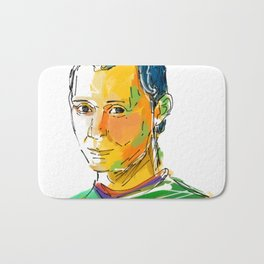 Niccolò Machiavelli Bath Mat