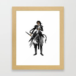 Asha Framed Art Print