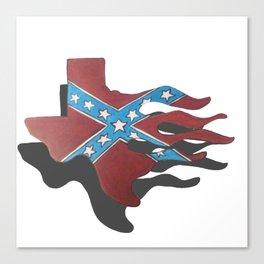 rebel texas Canvas Print