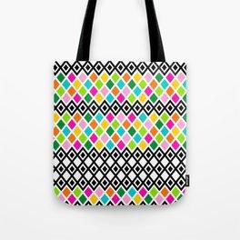 DIAMOND - White Tote Bag