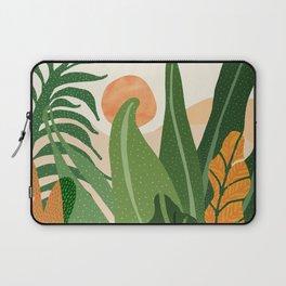 Desert Garden Sunset Laptop Sleeve