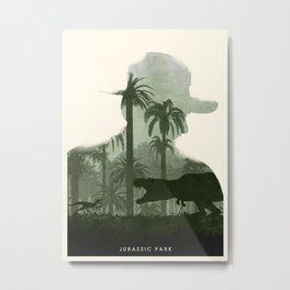 Jurassic Park Metal Print