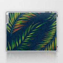Neon Palm Fronds -  Distressed Laptop & iPad Skin