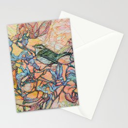 Caterpillar Questers 2 Stationery Cards