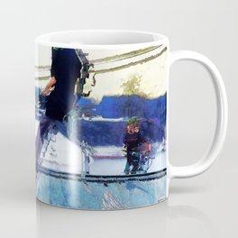 Hanging On  -  Stunt Scooter Artwork Coffee Mug