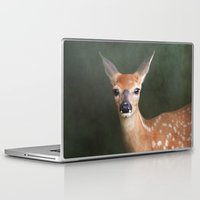 fawn Laptop & iPad Skins featuring Fawn by Jai Johnson