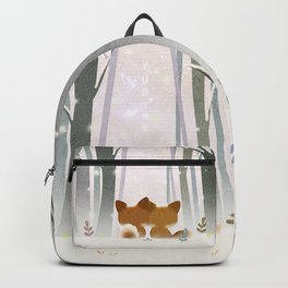 Winter Fox Backpack