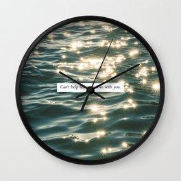 FALLING IN LOVE. Wall Clock
