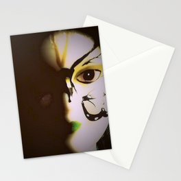 Doll In Color Stationery Cards