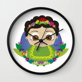 Cute Frida Wall Clock