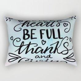GIVING Rectangular Pillow