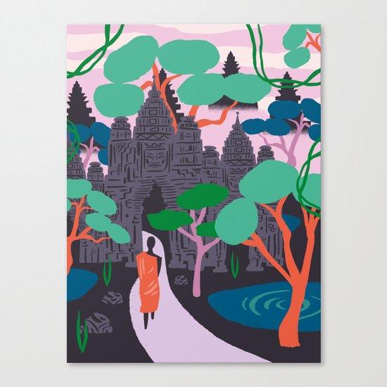 Angkor Wat Temples, Cambodia Canvas Print