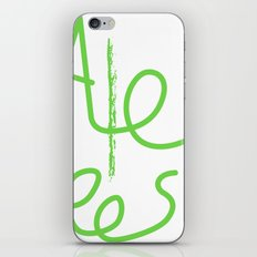 Alex cool tees iPhone & iPod Skin
