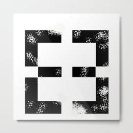 African Symbol-Support Metal Print