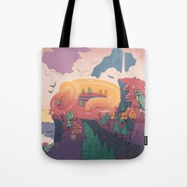 The creature of the mountain Tote Bag